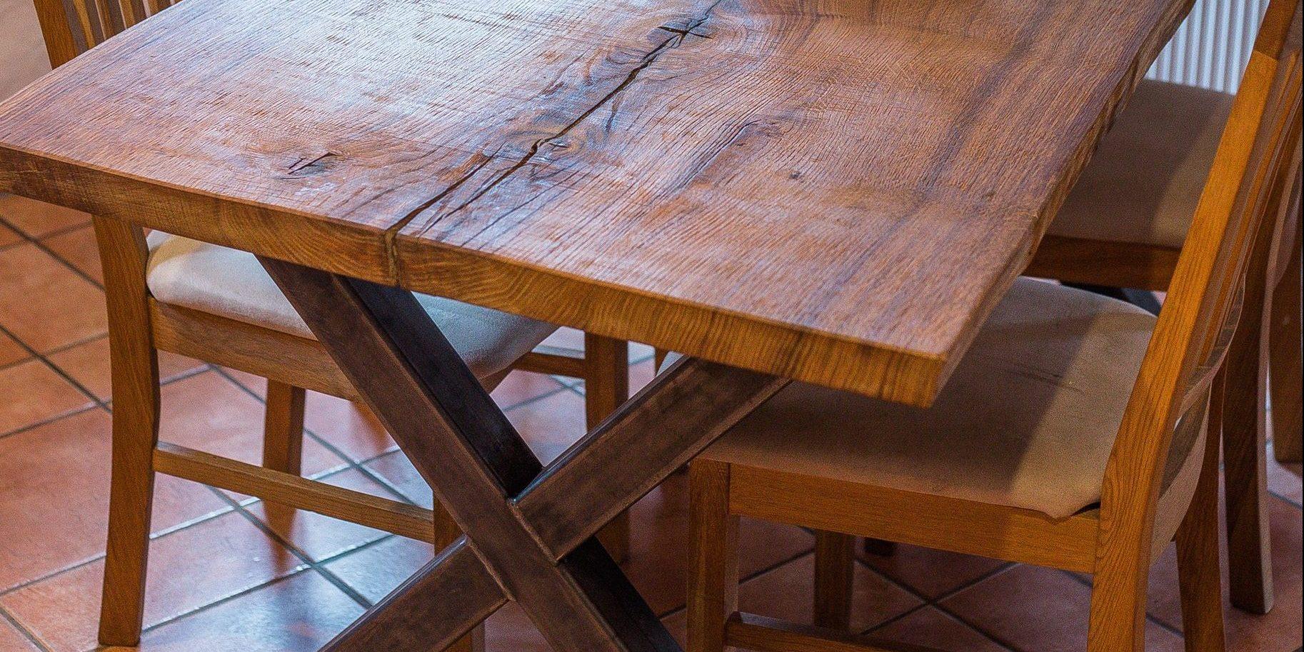 tischbeine in x form hartwich metall. Black Bedroom Furniture Sets. Home Design Ideas